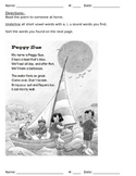 Poems with phonics and questions - whole set (19 activities)