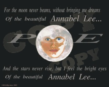 Poe's Annabel Lee Poster
