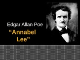 "Poe's ""Annabel Lee"" and Justice's ""Incident in a Rose Garden""  (PowerPoint)"
