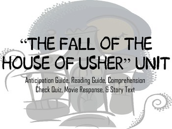 "Poe's ""The Fall of the House of Usher"" Unit Bundle"