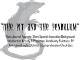"Poe's ""The Pit and the Pendulum"" Introduction Activity PPT"