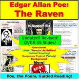 The Raven and Edgar Allan Poe: PowerPoint, Google Slides