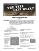 Poe's The Tell-Tale Heart text and mock trial comprehension activity