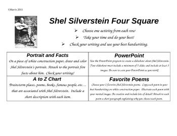 Poet Study-Shel Silverstein