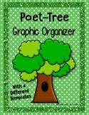 Poet-Tree {Poetry} Graphic Organizers