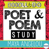 Poet and Poem Study – Maya Angelou – Doodle Notes Women's History Month