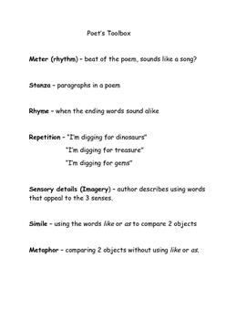 Poet's Toolbox