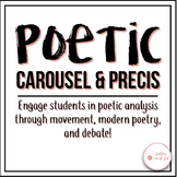 AP Literature Introductory Poetic Analysis and Explication Activities (Engaging)