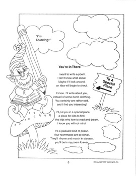Poetic Concoctions (Grades 2-3) by Teaching Ink