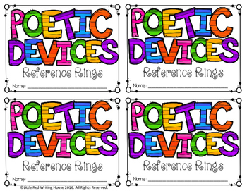 Poetic Device Reference Rings