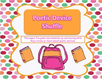 Poetic Device Shuffle