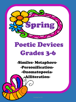 Spring Similes, Metaphors, and Poetic Devices