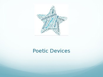 Poetic Devices - English