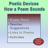 Poetic Devices How a Poem Sounds