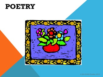 Poetic Devices, Poetry Recitation and Poetry Writing Unit, grade 4