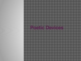 Poetic Devices PowerPoint