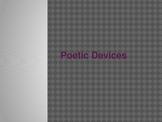 Poetic Devices PowerPoint