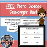 Poetic Devices Scavenger Hunt