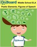 Poetic Elements, Figures of Speech-Interactive Lesson