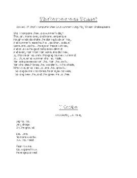 Poetic Form Exploration