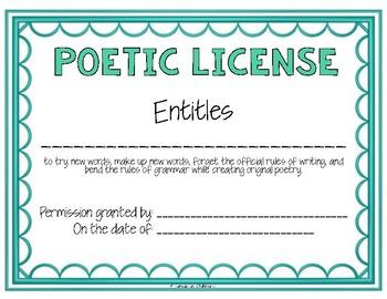 Free Poetry Interactive Notebooks | Teachers Pay Teachers