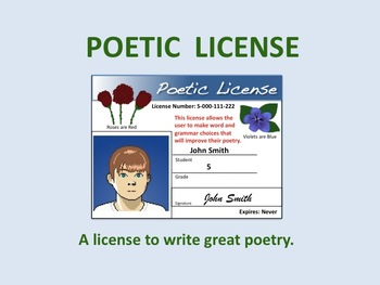 Poetic License >> Poetic License A License To Write Great Poetry By Eric Jayne Tpt