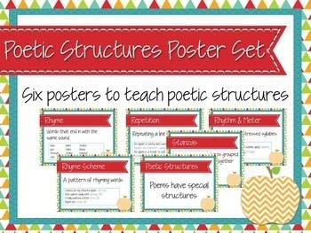 Poetic Structures Posters