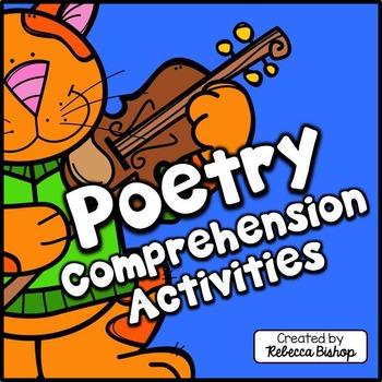 Poetry Comprehension Activities