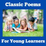 Poems   Preschool Kindergarten 1st Grade   Poetry Unit Activities