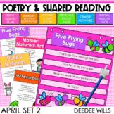 SEESAW Preloaded Poetry 2: Poems for April