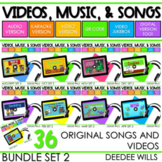 SEESAW PRELOADED Poetry 2 Music and Video Files BUNDLE