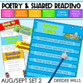 Poetry 2: Poems for August and September