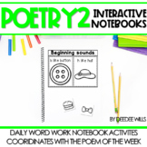 Poetry 2 Interactive Notebooks