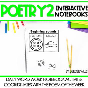Poetry 2 Interactive Notebooks