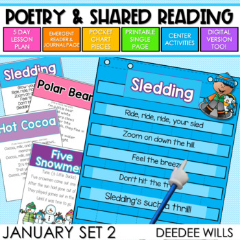 Poetry 2:  Poems for January