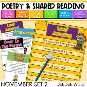 Poetry 2: Poems for November