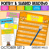 Poetry 2: Poems for October
