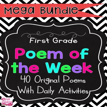 Kindergarten and First Grade Poem of the Week