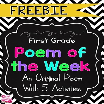 Free Poem of the Week Download