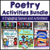 Poetry Activities Bundle (Similes, Metaphors, Idioms, & Poetry Comprehension)