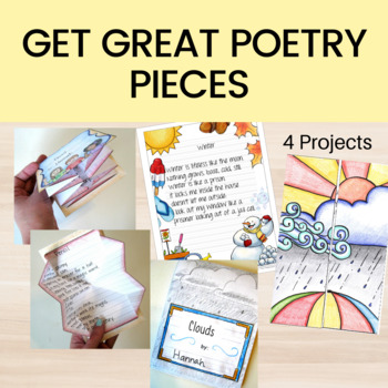 Poetry Writing Unit for 2nd or 3rd Grade