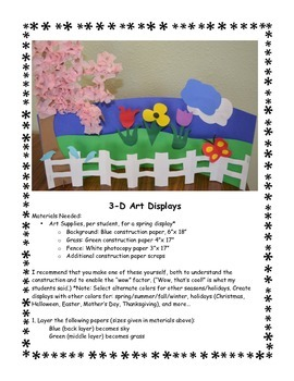 Poetry & 3-D Art...for Every Season!