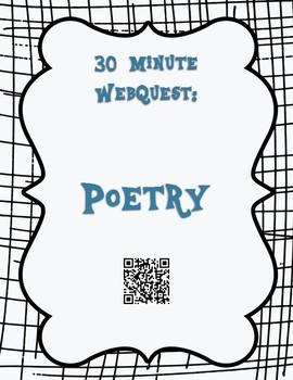 Poetry 30 Minute WebQuest