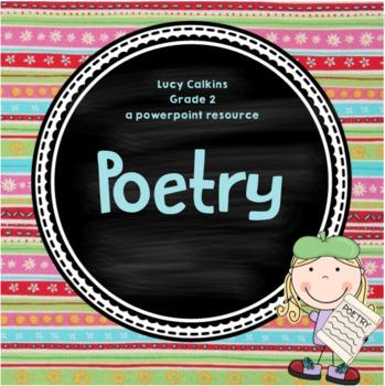 Poetry (Grade 2) Entire Unit ***