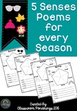Poetry- 5 Senses Poems for all Seasons