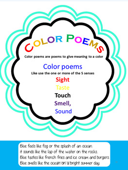 Poetry-50+ page workbook -No prep and PowerPoint presentation