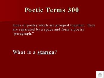 Poetry--6th Grade Core Knowledge Trivia