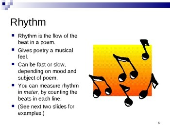 Poetry 80-Slides PowerPoint - Intermediate - Reading - Poems - ELA - Writing