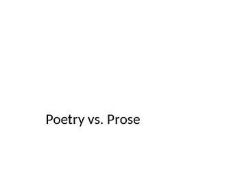 Poetry/ A TRTW Lesson