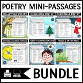 Poetry Comprehension Bundle